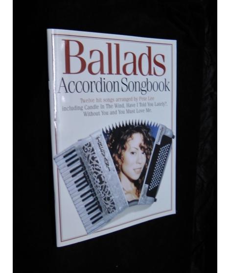 BALLADS ACCORDION SONG BOOK
