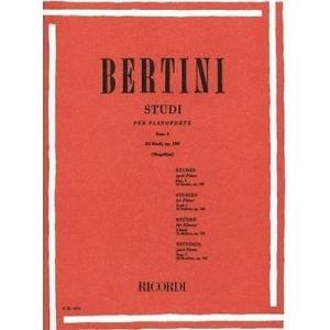 Bertini E. - 25 Studi per 1° Grado OP. 100 I Fascicolo- per Pianoforte RICORDI  886