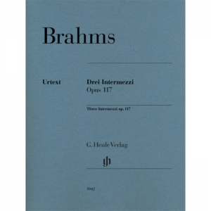 BRAHMS: DREI INTERMEZZI OPUS 117 (THREE INTERMEZZI OP. 117)