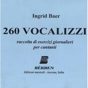260 vocalizzi ingrid baer...