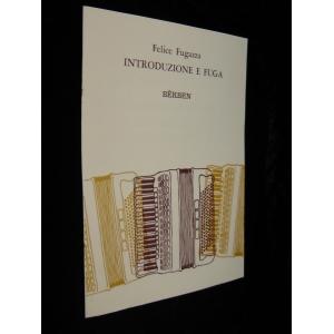 SPARTITI PER FISARMONICA 1501 FELICE FUGAZZA INTRODUZIONE E FUGA