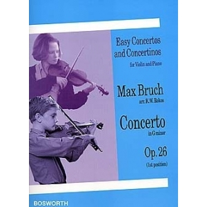 Max Bruch (Arr. K.W. Rokos): Concerto in G Minor For Violin And Piano Op.26 1039