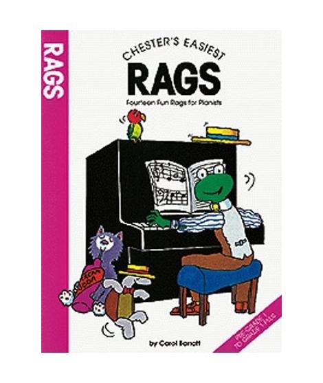 Carol Barratt - Chester's Easiest Rags