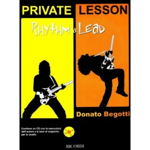 Donato Begotti  Private lesson - Rhythm & Lead BMG Ricordi  1485