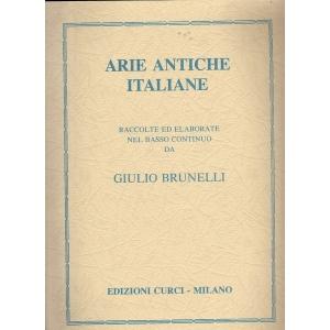 Arie antiche italiane Giulio Brunelli curci 1245