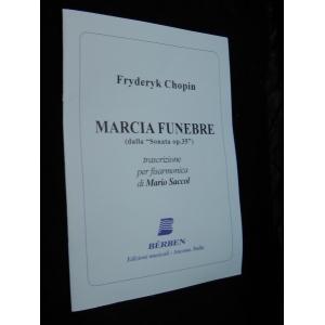 SPARTITI PER FISARMONICA 469 FRYDERYK CHOPIN MARCIA FUNEBRE