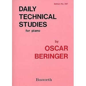 Oscar Beringer: Daily Technical Studies For Piano 689