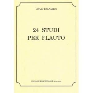 GIULIO BRICCIALDI - 24 STUDI PER FLAUTO