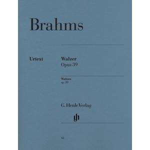 Johannes Brahms Waltzes op. 39  Editor: Walter Georgii Fingering: Walter Georgii 1138