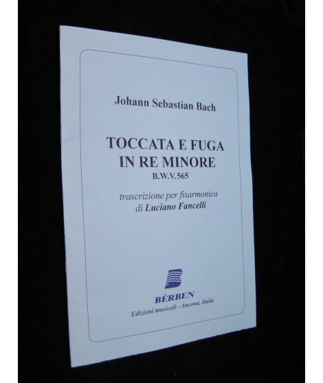 JOHANN SEBASTIAN BACH TOCCATA E FUGA IN RE MINORE
