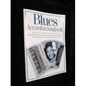 SPARTITI PER FISARMONICA 486 BLUES ACCORDION SONGBOOK