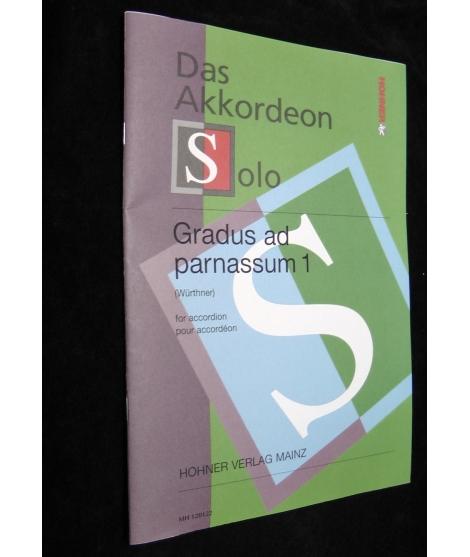 SPARTITI PER FISARMONICA 1480 DAS AKKORDEON SOLO-GRADUS AD PARNASSUM 1