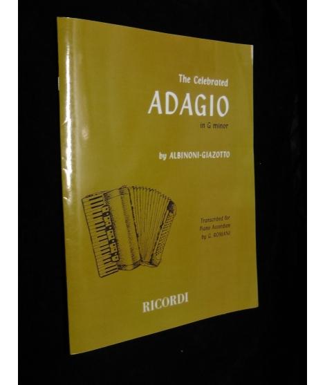 ALBIRONI GIAZOTTO-ADAGIO IN G MINORE
