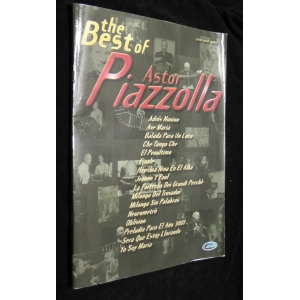 SPARTITI PER FISARMONICA 1353 ASTOR PIAZZOLLA THE BEST OF