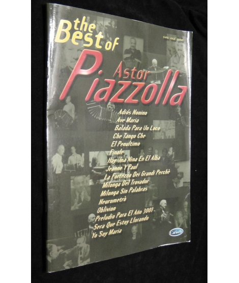ASTOR PIAZZOLLA THE BEST OF