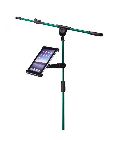 SOUNDSATION - Supporto per tablet con aggancio asta microfono