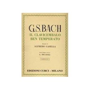 Bach - il Clavicembalo ben temperato Vol 1 - revisione di Alfredo Casella