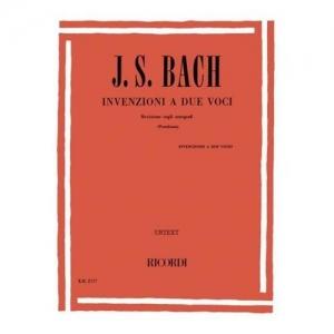 J. S. BACH - Invenzioni a 2...