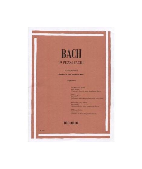 EDIZIONI MUSICALI RIUNITE - BACH - 19 PEZZI FACILI