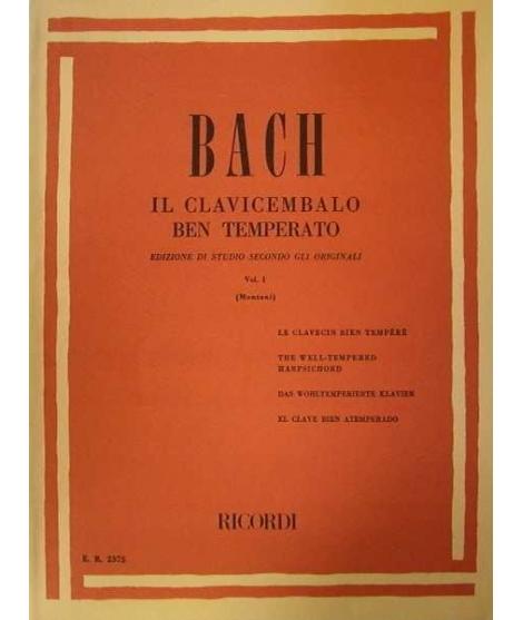 Il clavicembalo ben temperato Volume 1 bach
