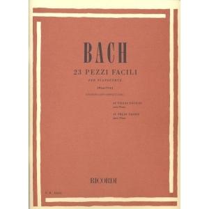 BACH J.S. - 23 PEZZI FACILI PER PIANOFORTE + CD