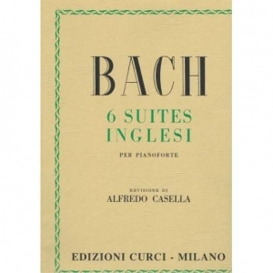 BACH 6 SUITES INGLESI
