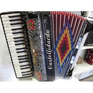 USATA! FISARMONICA PIATANESI 41/120 VOCI A MANO  MIDI  MICROFONI INTERNI  CASTELFIDARDO