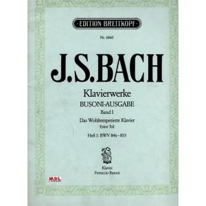 """Johann Sebastian Bach  """"Klavierwerke"""""""