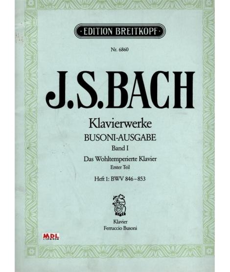 "Johann Sebastian Bach  ""Klavierwerke"" band 1"