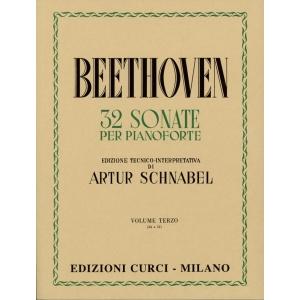 32 Sonate Volume 3  Sonate 24-32 Autore: Ludwig van Beethoven