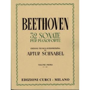 32 Sonate  Ludwig Van Beethoven, Artur Schnabel Volume 1