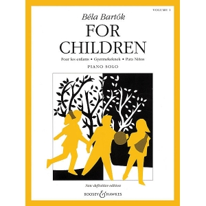 Bartok - For Children, Volume 1 Volume 1