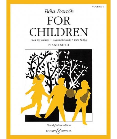 Bartok - For Children, Volume 1 Volume 1