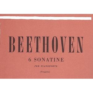 BEETHOVEN 6 SONATINE