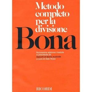 BONA METODO COMPLETO PER LA DIVISIONE ED. RICORDI