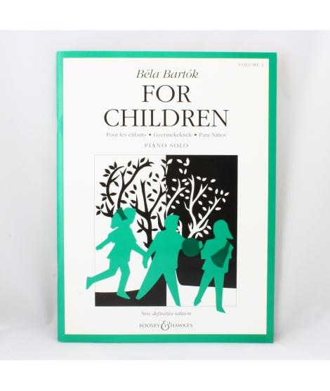 Bartok Boosey e Hawkes Vol 2 - For Children piano solo