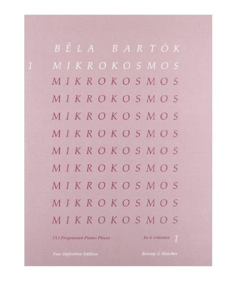 Mikrokosmos: 153 Progressive Piano Pieces : New Definitive Edition