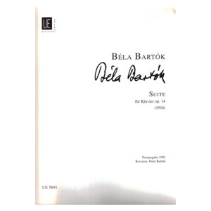 Bartók, Béla. Suite für Klavier, op. 14 (1916)