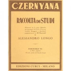 CURCI CL112 SPARTITO CLASSICA CZERNYANA FASCICOLO VI RACCOLTA DI STUDI REVISIONE ALESSANDRO LONGO