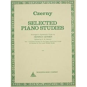SELECTED PIANO STUDIES