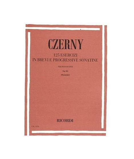 Czerny-C-125-Esercizi-in-Brevi-e-Progressive-