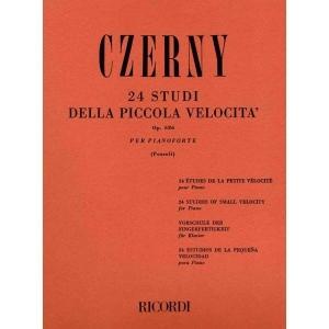 CZERNY C. - 24 STUDI DELLA PICCOLA VELOCITA
