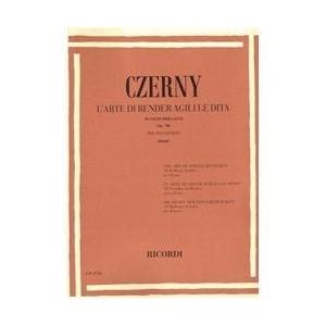 Czerny Carl: L'arte di rendere agili le dita op. 740