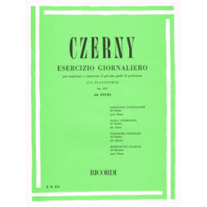 CZERNY C. - ESERCIZIO GIORNALIERO