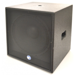 "technosound Subwoofer attivo 12"", Bass Reflex Design"