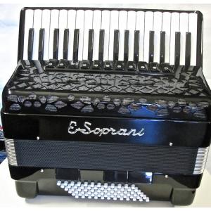 E.Soprani modello 744KK Musette72 /4 NUOVO ACCORDION FISARMONICHE Fisarmonica GARANZIA 5 ANNI