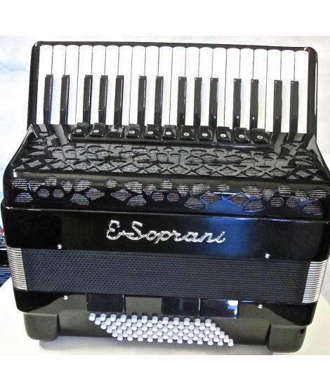 E.Soprani modello 744KK Musette34/72 /4 NUOVO ACCORDION FISARMONICHE Fisarmonica GARANZIA 5 ANNI