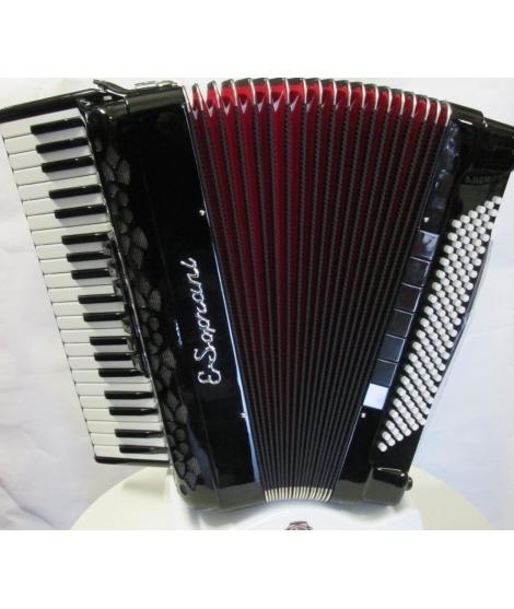 E Soprani modello 123 KK 120 bassi NUOVO ACCORDION FISARMONICHE Fisarmonica GARANZIA 5 ANNI