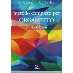 METODO PER ORGANETTO 2-4-8 BASSI BELLINI