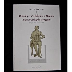 LIBRO FISARMONICA ATTILIO AMITRANO METODO PER L'ARMONICA A MANTICE 1556